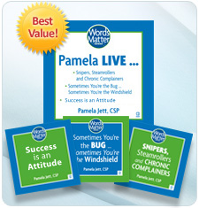 'Pamela Live...' 3 disc audio CD collection