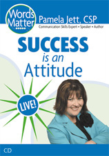 Order 'Success is an Attitude' audio CD